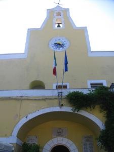 Municipio. Arco e torre