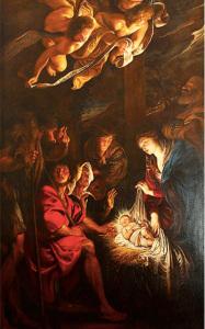 Rubens. L'adorazione dei pastori