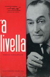 Totò. 'A livella. 1964. Libro