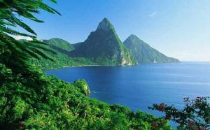 Vedute dell'isola di Santa Lucia.11