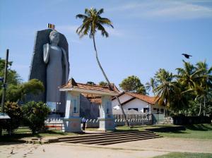 Buddha Statue in Dondra. Southern Sri-Lanka