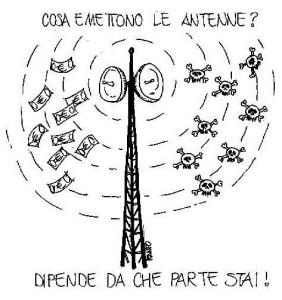 Cosa emettono le antenne