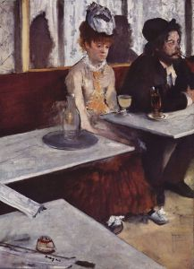 Edgar Degas. L'absinthe (1876)