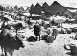 Il mercato di Mogadiscio nel '78