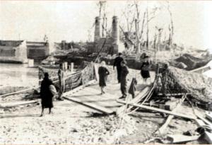 Il ponte distrutto