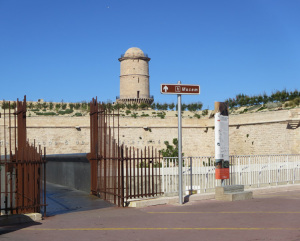 Ingresso MuCEM per il Fort St. Jean