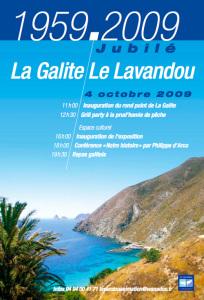 La Galite-Le Lavandou. Affiche