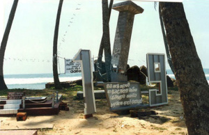Piccolo cimitero bordo mare