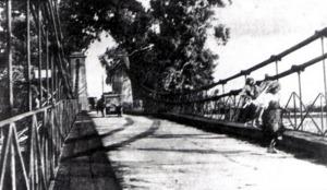 Ponte Garigliano foto 1900