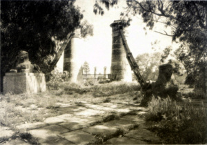 Ponte antico. Sfingi