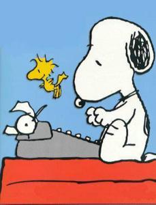Snoopy alla macchina da scrivere.1