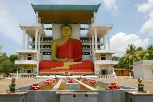 Tempio buddhista nei dintorni di Matara