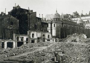 Vue de l'ancien quartier de la bourse poste de Marseille