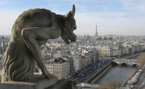 13. Gargoyle-over-Paris