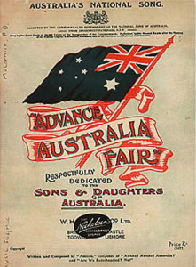Advance Australia Fair