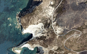 Google Map. Ponza