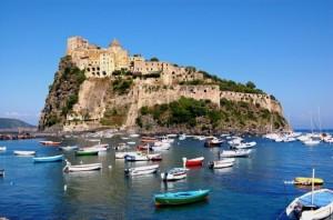 Ischia. Castello aragonese