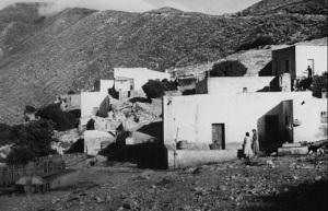 La Galite. Antica foto. Scene di vita