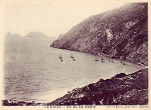 La Galite. Foto d'epoca