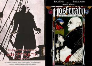 Nosferatu. Locandine film. Bis