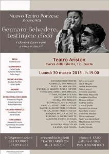 Nuovo teatro Ponzese. Gennaro Belvedere