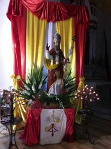 S. Silverio nella Chiesa di Le Forna