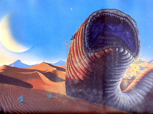 The Sand's Worm from Dune