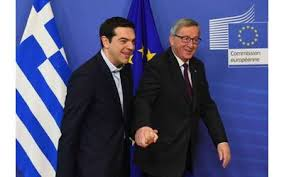 Tsipras e Juncker