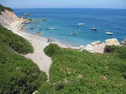 Zannone l'unica spiaggia