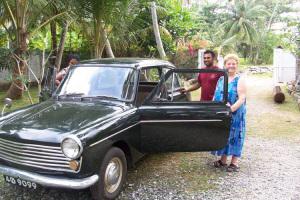 Zia Iole prende la macchina