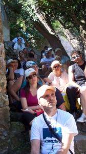foto ricordo dei partecipanti al corso di introduzione all'attività di guida turistica