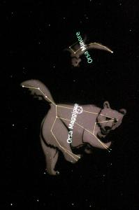 l'orsa maggiore e l'orsa minore