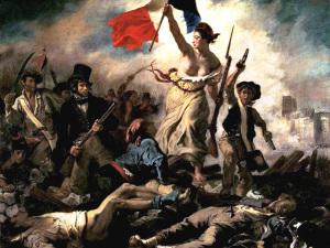 Delacroix. La Liberté guidant le peuple (1830). Louvre