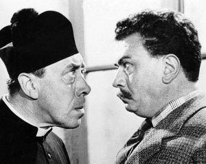 Don Camillo e Peppone. Fernandel e Gino Cervi