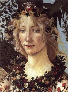Flora. Da 'La Primavera' di Botticelli