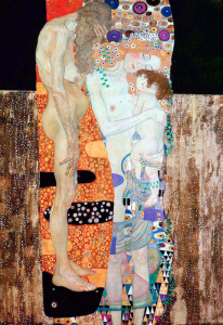 G. Klimt. Le tre età della donna. Part. 1905