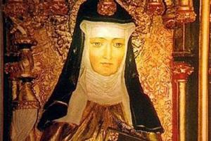 Ildegarda_Von_Bingen 1098-1179. Religiosa. Dottore della Chiesa