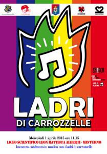 Ladri di Carrozzelle. Liceo Minturno