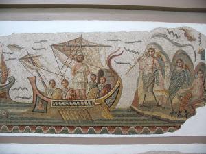 Museo del Bardo. Ulisse e le Sirene