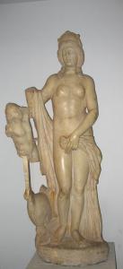 Museo del Bardo. Venere ed Eros. Scult. II sec.