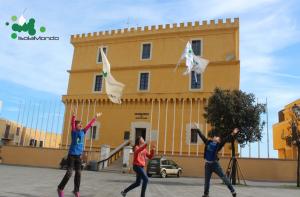 Ventotene in piazza del Castello
