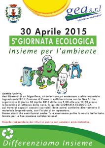 5.Giornata Ecologica