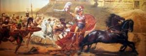 Ettore trainato da Achille
