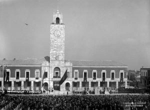 Inaugurazione di Littoria