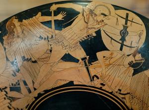 La guerra di Troia. Louvre
