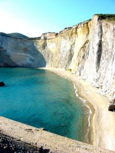Ponza, la spiaggia di Chiaia di luna