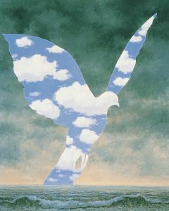 René Magritte. La grande Famille.1963