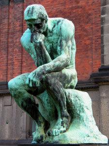 Rodin-Il-Pensatore. 1880-1904. Parigi. Museo Rodin