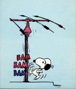 Snoopy radioamatore.2