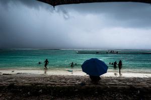 Tempesta sulla spiaggia.1
